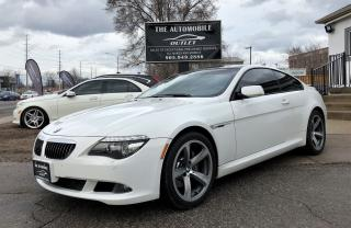 Used 2008 BMW 650i 650i COUPE M SPORT PKG NAVI NO ACCIDENT for sale in Mississauga, ON