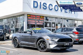 Used 2018 Ford Mustang eco boost premium for sale in Burlington, ON