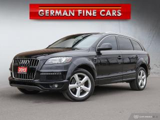 Used 2012 Audi Q7 **3.0L PREMIUM PLUS, SLINE PACKAGE** for sale in Bolton, ON
