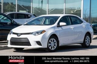 Used 2014 Toyota Corolla Ce B Pack Ac for sale in Lachine, QC