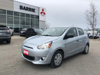 Used 2015 Mitsubishi Mirage ES *Automatic *Warranty for sale in Barrie, ON