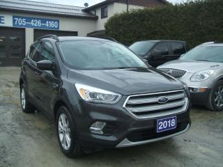 Used 2018 Ford Escape SEL, 4WD, Pano. Roof,Leather, Nav. for sale in Beaverton, ON