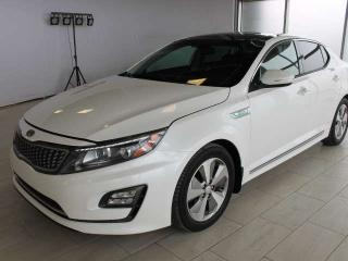 Used 2015 Kia Optima Hybrid EX HYBRID/2 SETS OF TIRES AND RIMS/HEATED SEATS/BACK UP CAMERA for sale in Edmonton, AB