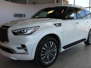 New 2019 Infiniti QX80 8 PASSENGER PRO ACTIVE for sale in Edmonton, AB