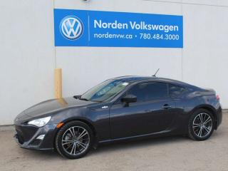 Used 2014 Scion FR-S 2DR COUPE - LOW KMS! for sale in Edmonton, AB