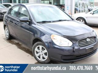 Used 2010 Hyundai Accent GL AUTO/POWEROPTIONS/TILT/CRUISE for sale in Edmonton, AB
