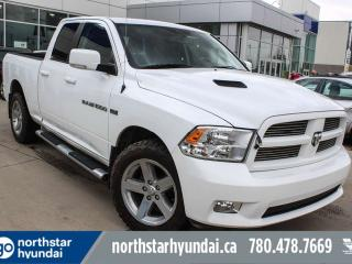 Used 2011 RAM 1500 SPORT/LEATHER/HEMI/BACKUPCAM/COOLEDSEATS/HEATEDSTEERINGANDSEATS for sale in Edmonton, AB