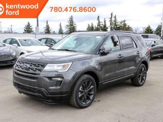 New 2019 Ford Explorer XLT, 4WD, 202a pkg, Power Liftgate, Leather, Twin Panel Moonroof, Adaptive Cruise, APPEARANCE pkg, Nav, Trailer Tow!! for sale in Edmonton, AB