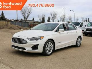 New 2019 Ford Fusion Hybrid SEL, HYBRID! OUTSTANDING for Environment!, Lane Keeping, Adaptive Cruise, power Moonroof, FordPass Connect, Heated Seats! for sale in Edmonton, AB