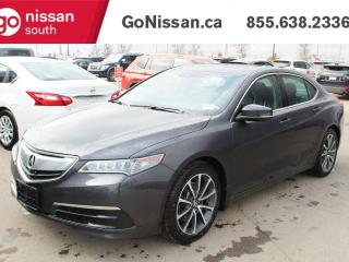 Used 2015 Acura TLX TECH V6 AWD WITH NAVIGATION LEATHER AND ROOF!! for sale in Edmonton, AB