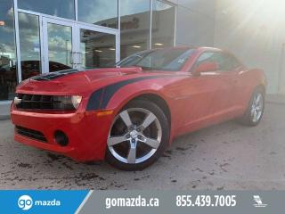 Used 2011 Chevrolet Camaro LS MANUAL POWER OPTIONS NICE VEHICLE for sale in Edmonton, AB