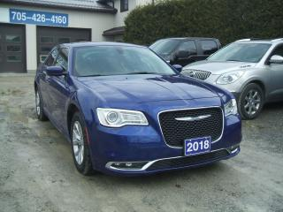 Used 2018 Chrysler 300 TOUR , Pano Roof, Nav. , Leather for sale in Beaverton, ON