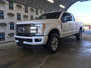 Used 2018 Ford F-350 Super Duty SRW PLATINUM- Low km's, super well taken care of! for sale in Campbell River, BC
