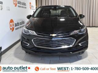 Used 2018 Chevrolet Cruze PREMIER, POWER WINDOWS & SEATS, HEATED HEATS, A/C, SATELLITE RADIO STEERING WHEEL CONTROLS, CRUISE CONTROL, BLUETOOTH, BACKUP CAMERA for sale in Edmonton, AB