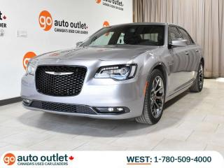 Used 2018 Chrysler 300 S, Leather heated seats, Apple Carplay & Android Auto, Remote Start, Backup Camera, Low KM! for sale in Edmonton, AB