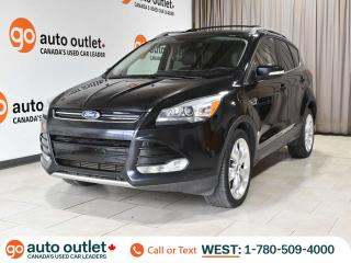 Used 2013 Ford Escape Titanium 4WD, Leather Heated Seats, Panoramic Sunroof, Nav, Remote Start for sale in Edmonton, AB