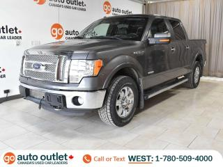 Used 2011 Ford F-150 Lariat 4x4 SuperCrew, Nav, Heated & Cooled Leather Seats, Backup Camera for sale in Edmonton, AB