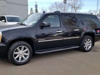 Used 2011 GMC Yukon XL Denal; LOADED, 7 PASS, NAV, BACKUP CAM, HEATED/COOLING SEATS, SUNROOF AND MORE for sale in Edmonton, AB