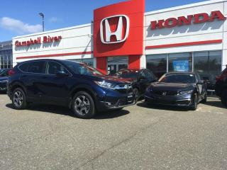 New 2019 Honda CR-V EX-L for sale in Campbell River, BC