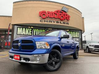 Used 2018 RAM 1500 OUTDOORSMAN+CREW+4X4+CAMERA+20