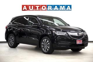 Used 2015 Acura MDX NAVIGATION LEATHER SUNROOF 7 PASSENGER AWD for sale in Toronto, ON