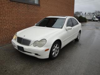 Used 2003 Mercedes-Benz C-Class 2.6L Classic for sale in Oakville, ON