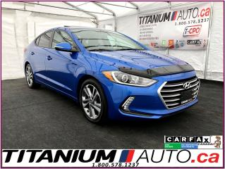 Used 2017 Hyundai Elantra GLS-Camera-Sunroof-Blind Spot-Heated Seats-Apple P for sale in London, ON