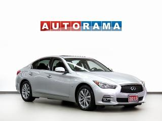 Used 2015 Infiniti Q50 LTD AWD NAVIGATION LEATHER SUNROOF BACKUP CAMERA for sale in Toronto, ON