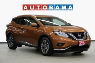 Used 2015 Nissan Murano SL NAVIGATION LEATHER SUNROOF AWD BACKUP CAM for sale in Toronto, ON