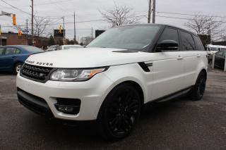 Used 2014 Land Rover Range Rover Sport *MATTE WHITE* V6 SUPERCHARGED for sale in Toronto, ON