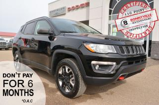 Used 2018 Jeep Compass TRAILHAWK- ONLY 20,000 KMS. GREAT CONDITION, LEATHER for sale in Bonnyville, AB
