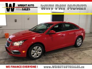 Used 2016 Chevrolet Cruze LT BACKUP CAMERA BLUETOOTH 50,822 KMS for sale in Cambridge, ON