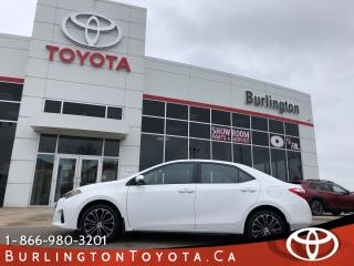 Used 2016 Toyota Corolla S TECH ONLY 13,000KM'S for sale in Burlington, ON