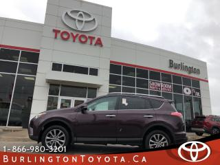 Used 2016 Toyota RAV4 LIMITED HUGE WARRANTY for sale in Burlington, ON