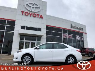 Used 2017 Toyota Corolla CE POWER GROUP for sale in Burlington, ON