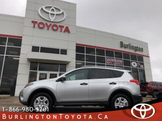 Used 2013 Toyota RAV4 LE all wheel drive ONLY 25,000 km for sale in Burlington, ON