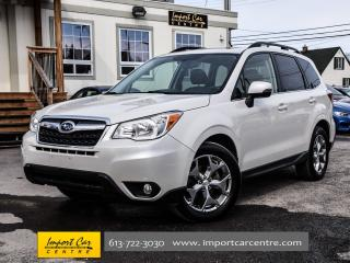 Used 2015 Subaru Forester 2.5i Limited NAV BK.CAM PANO ROOF 18 ALLOYS WOW!! for sale in Ottawa, ON