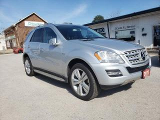Used 2011 Mercedes-Benz ML-Class ML350 BlueTEC for sale in Waterdown, ON