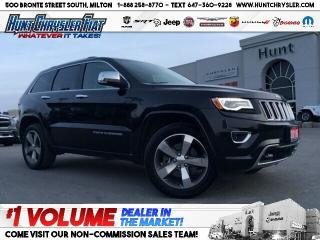 Used 2016 Jeep Grand Cherokee OVERLAND   TECHNOLOGY   TOW   NAV   LEATHER   LOAD for sale in Milton, ON