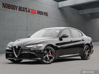 Used 2018 Alfa Romeo Giulia Ti-Q4 Performance Pkg*Pano Roof*5Hole DK Whls for sale in Mississauga, ON