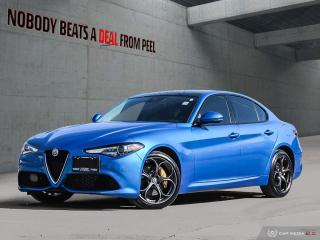 Used 2018 Alfa Romeo Giulia Ti-Q4 Performance*Pano Roof*Adaptive*Carplay*Race for sale in Mississauga, ON
