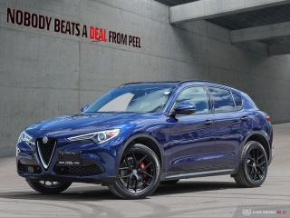 Used 2018 Alfa Romeo Stelvio Ti-Q4 Ribelle Edizione*Adaptive Crz*Dark Tecnico W for sale in Mississauga, ON