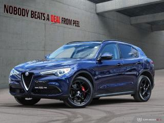 Used 2018 Alfa Romeo Stelvio Sport-Q4 Nero Edizione*Pano Roof*Adaptive Cruise for sale in Mississauga, ON