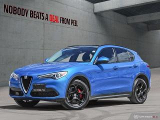 Used 2018 Alfa Romeo Stelvio Sport-Q4 Nero Edizione*Pano Roof*Dark Tecnico Whls for sale in Mississauga, ON