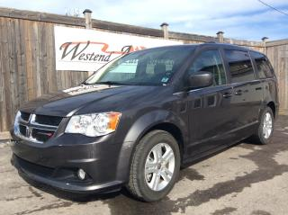Used 2018 Dodge Grand Caravan Crew Plus  only 21000 kms for sale in Stittsville, ON