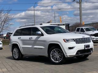 Used 2018 Jeep Grand Cherokee *Overland*3.0L Diesel*LOW KM Demo for sale in Mississauga, ON