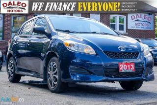 Used 2013 Toyota Matrix ECONOMICAL | AUX INPUT | ALL POWER for sale in Hamilton, ON
