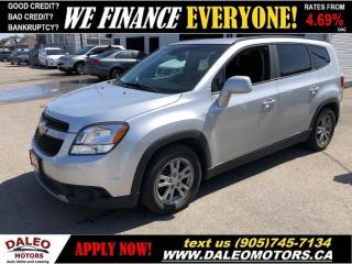 Used 2012 Chevrolet Orlando 1LT | 98KMS | 7 PASSENGER | BLUETOOTH for sale in Hamilton, ON