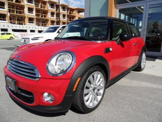 Used 2012 MINI Cooper Leather / Sunroof for sale in North Vancouver, BC