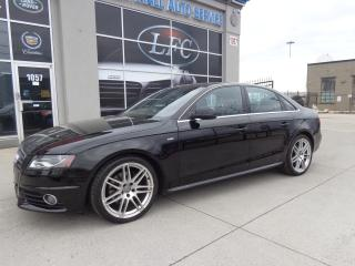 Used 2011 Audi A4 2.0T Premium S-LINE OPTIONS.QUATTRO.MANUAL. for sale in Etobicoke, ON